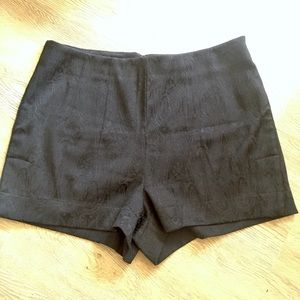 Forever 21 baroque fabric black shorts. 10
